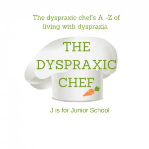 A - Z of Living with Dyspraxia J is for