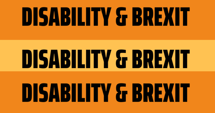 disability & brexit